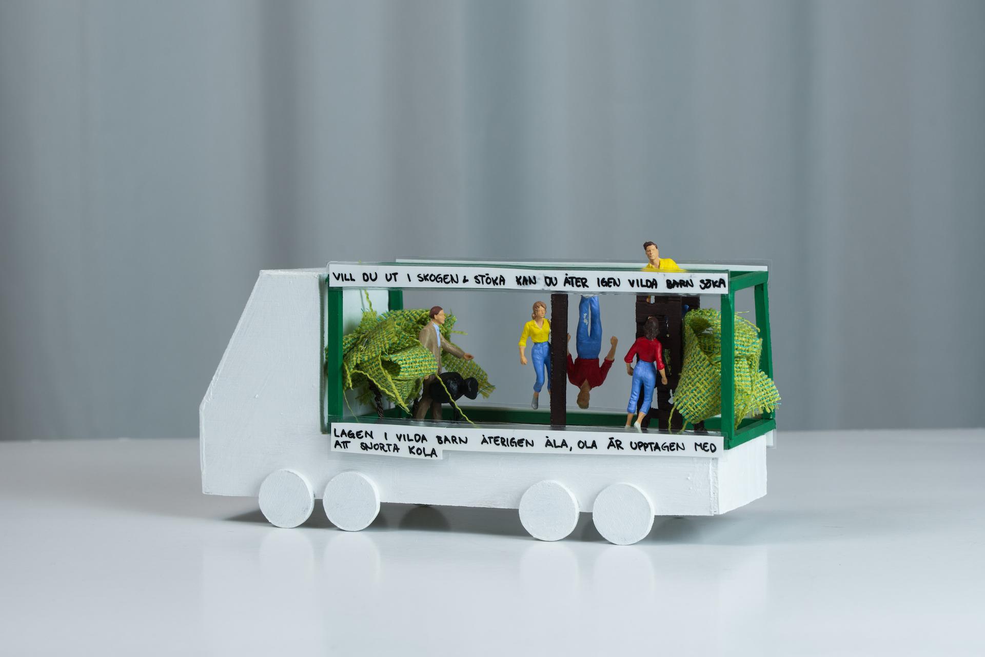 Bild på len eksakslastbil