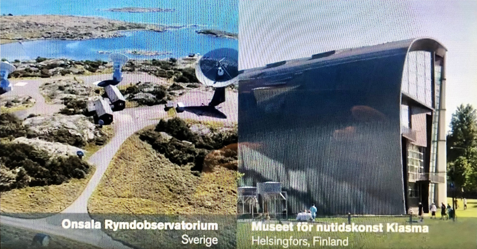 Bilder på rymdobservatoriet